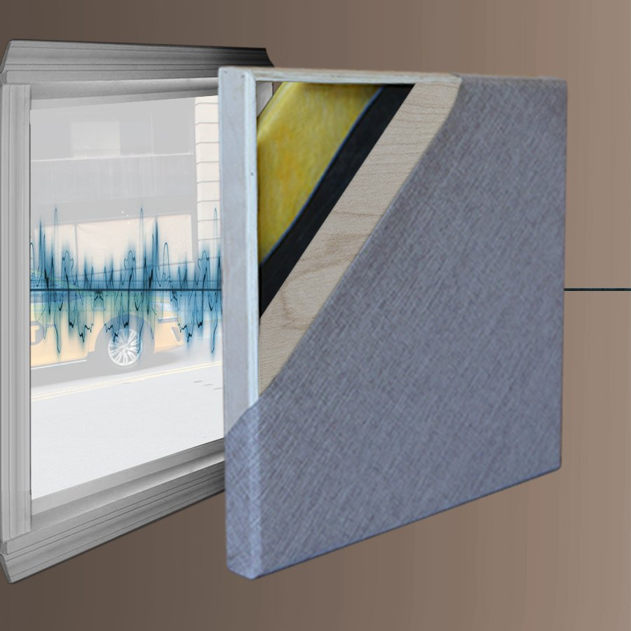 Custom soundproofing panels for windows doors and openings for High insulation windows