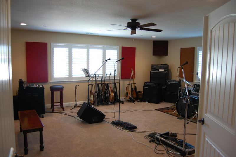 acoustic design for the home studio.  setting up a similar studio I m getting all geared and ready to record Love the look love acoustic affect result Steve Kolokithas Acoustimac Knowledge Center Home Studio Acoustics